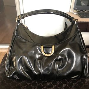 Gucci Hobo patent leather